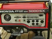 2008 HONDA generator Model EM 5000 SX