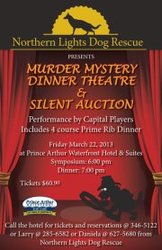Murder Mystery Dinner Theater and silent auction