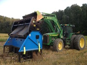 SLG Vibratory Portable Screening Machines for Topsoil,  Rock,  Compost